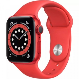 Apple Watch Series 6 GPS 40mm (PRODUCT) RED with (PRODUCT) RED Sport Band (M00A3)